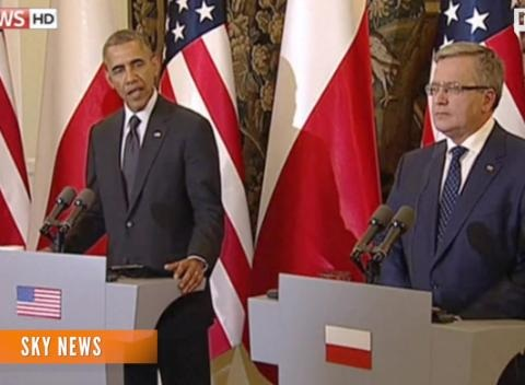 News video: Obama's Pledge Of Support To Poroshenko A Signal To Russia